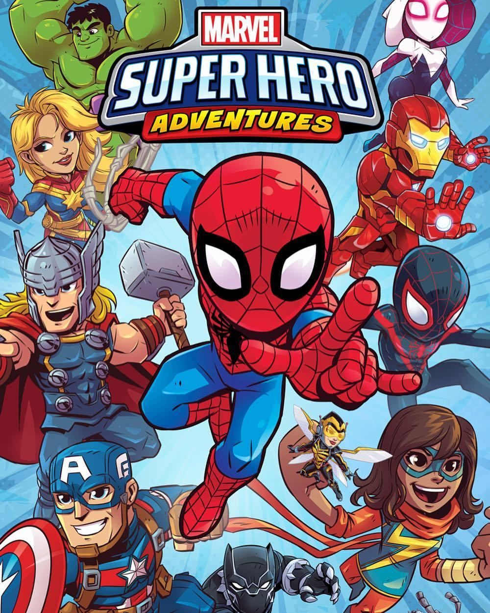 Almost 2 Years In The Making Marvel Super Hero Adventures Line