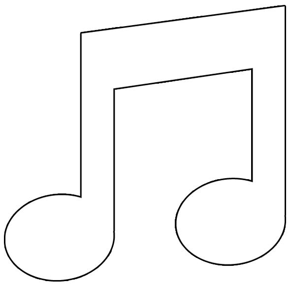 Note Musique Png 593 581 Avec Images Note De Musique Note