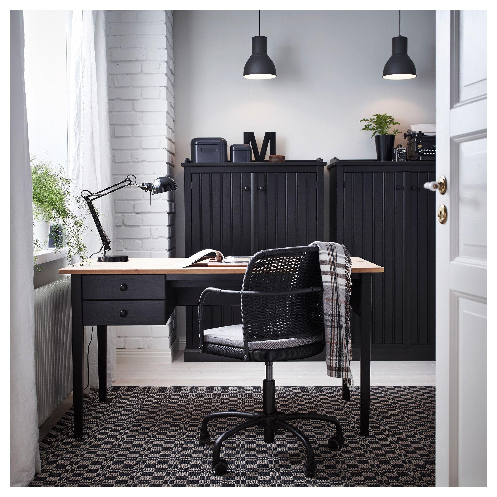 Arkelstorp Bureau Zwart 140x70 Cm Ikea Ikea Home Office Home Office Design Ikea Home [ 2000 x 2000 Pixel ]