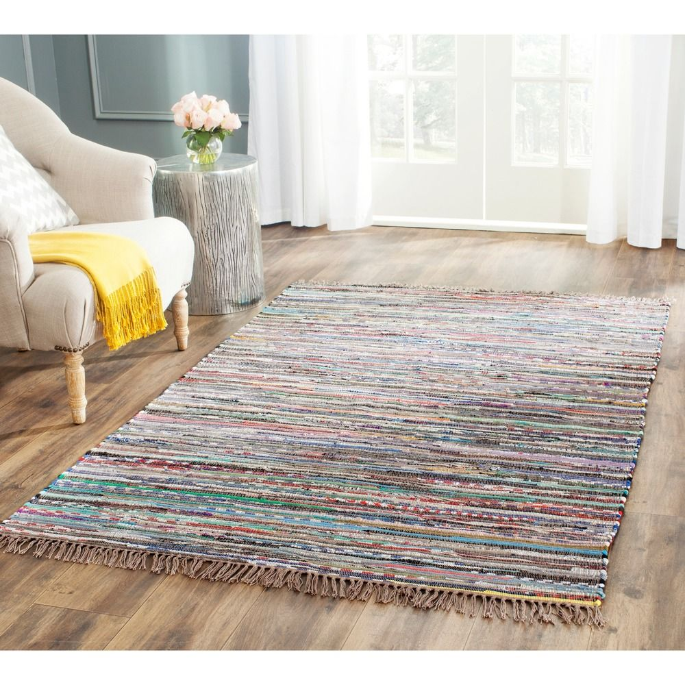 Safavieh Hand Woven Rag Rug Rust Cotton Rug X   Overstock Shopping   Great  Deals On Safavieh   Rugs
