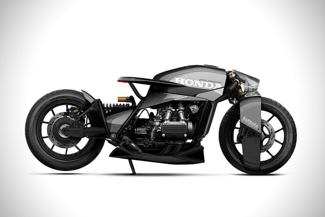 Behold The Insane 2050 Triumph Black Matter Motorcycle