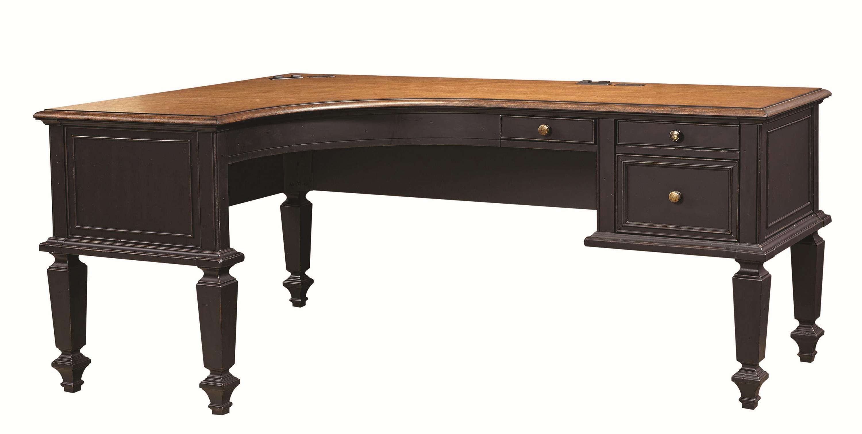 Ravenwood L-Shaped Desk by Aspenhome | office | Pinterest | Desks ...