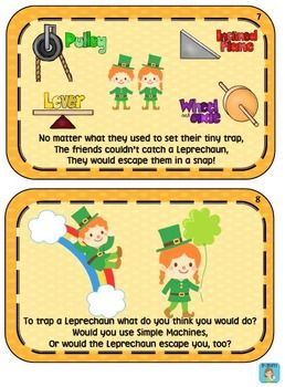 Theme - St. Patrick's Day/ Simple Machines/ Engineering -