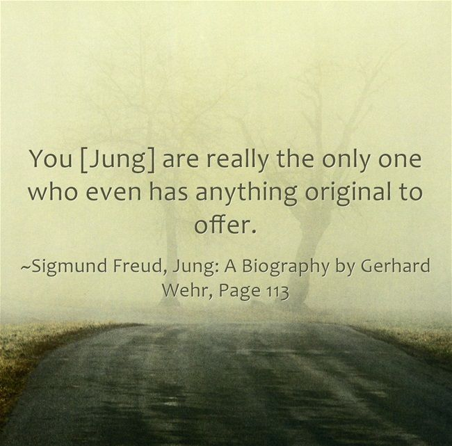 You [Jung] are really the only one who even has anything