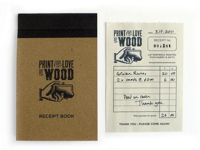 Receipt Book Hand written, Brand identity and Logos - payment receipt book