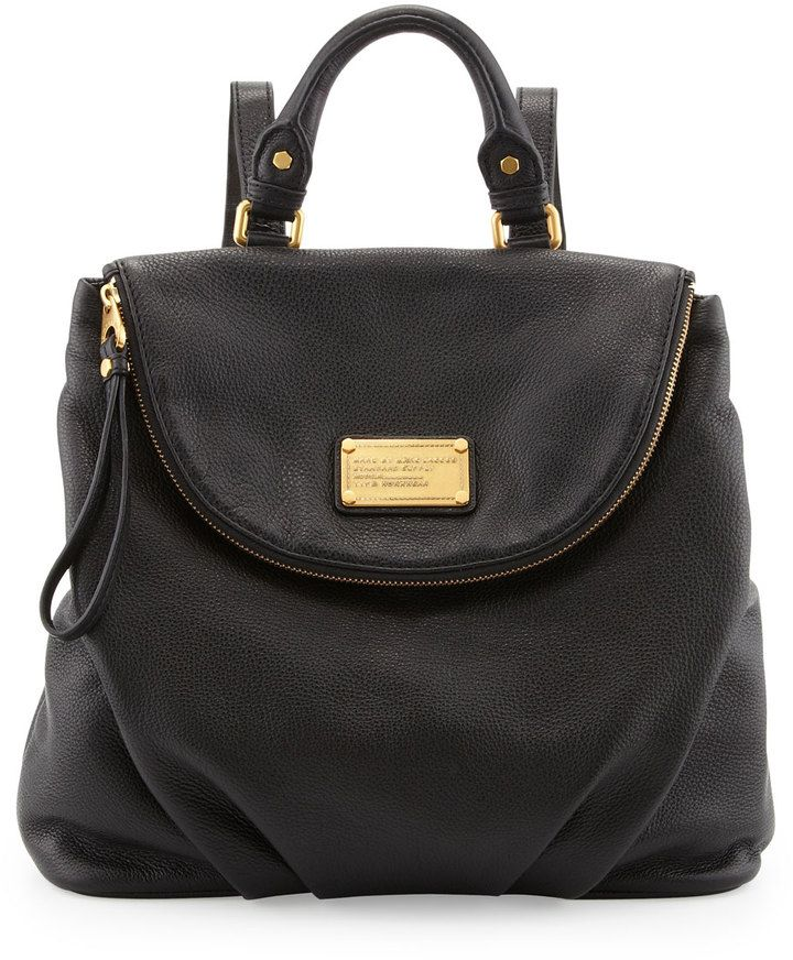 ea0a8fbb2b7 Marc by Marc Jacobs Classic Q Mariska Backpack, Black on shopstyle.com