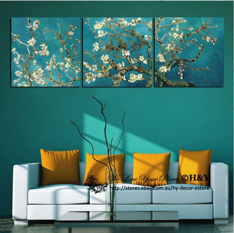 Rockets Satellite Planets Stretched Canvas Print Framed Boys Wall Art Decor AU