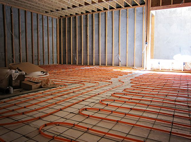 Radiant Heating Floor