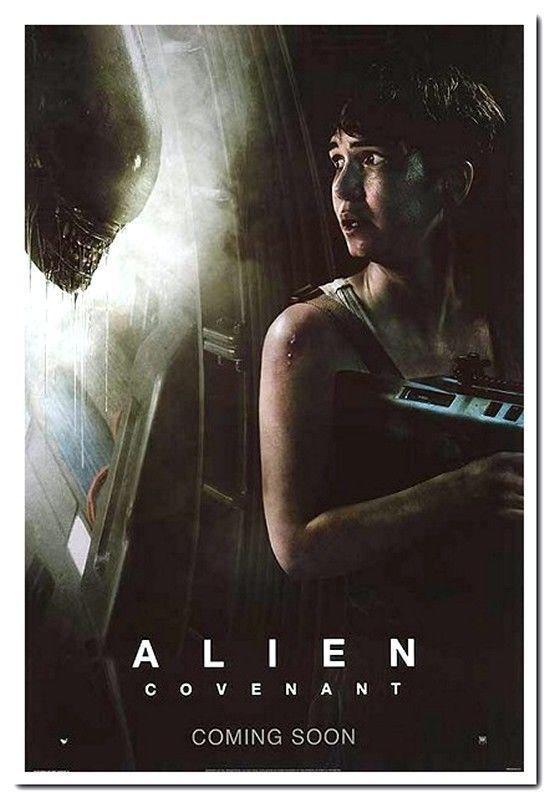 Details About Alien Covenant 2017 Original D S 27x40 Advance E