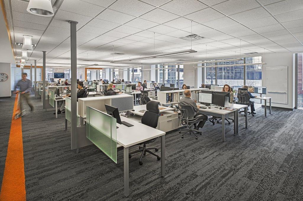Kraemer Design Group Detroit Office interior design