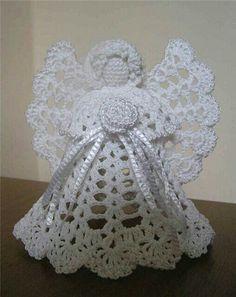 Tree Angel Crochet Angels Crochet Angel Pattern Crochet Angel