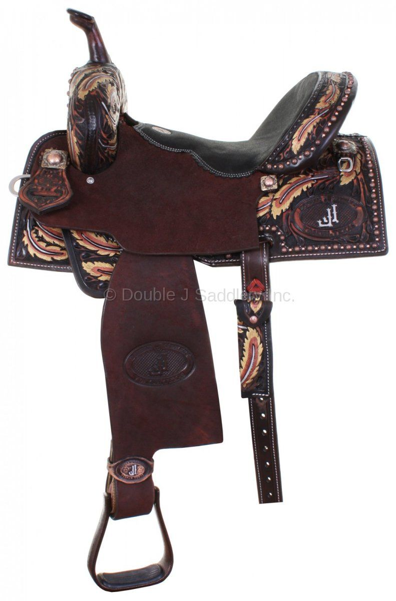 Double J Flex Fit Custom Saddle - SFF100 | Horse Tack