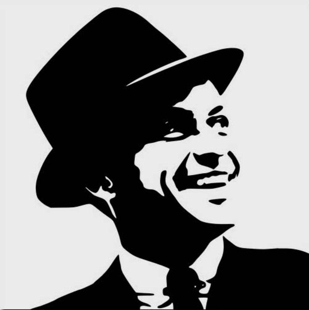 frank sinatra pop art black and white szukaj w google