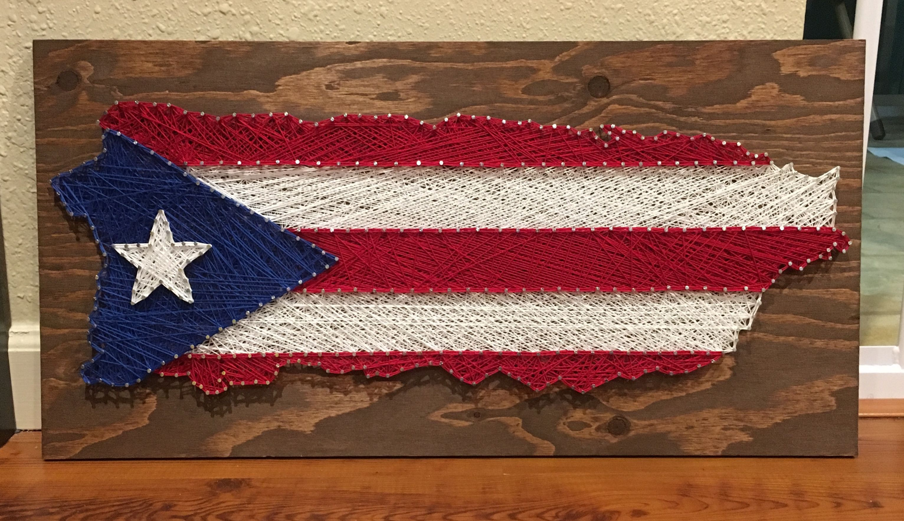 Puerto Rico String Art