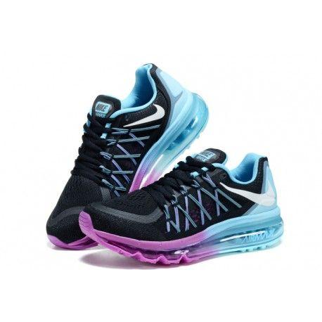 reputable site 5feec fb888 cheap nike air max women,Cheap New Nike Air Max 2015 Women Black Purple Light  blue