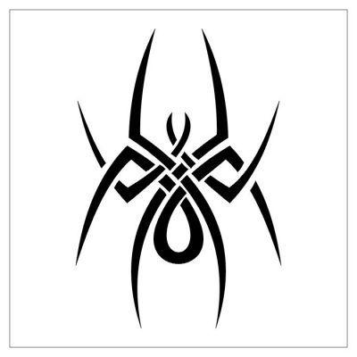 tribal spider free tattoo | tribal tattoo designs, spider tattoo, tribal  tattoos  pinterest