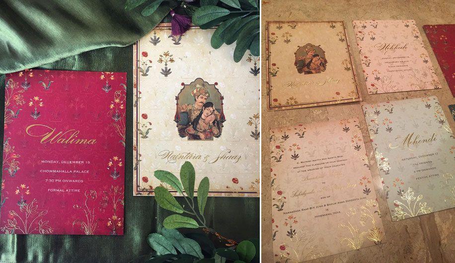 The Royal Elegance by Sketch Design Studio – Studio Cards Wedding Invitations