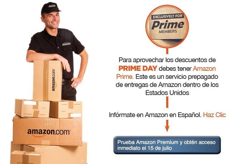 Recuerda Que El Amazon Prime Day Es Exclusivo Para Cliente Prime