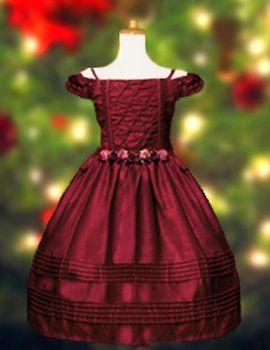 0075d4b647f05 Christmas Dress for Little Girls - Victorian Christmas Dress   Kids ...