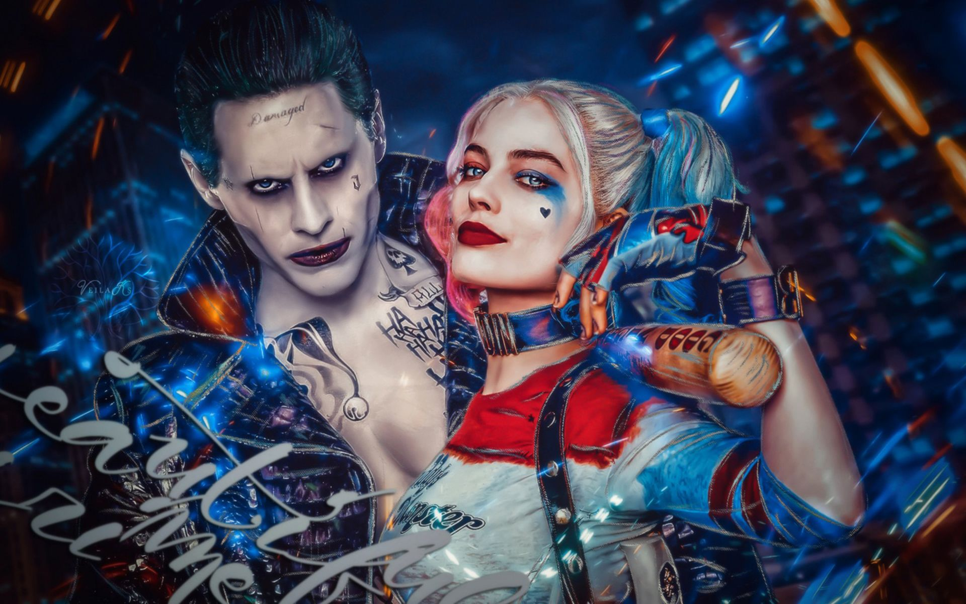 harley quinn joker suicide squad Suicide Squad, The