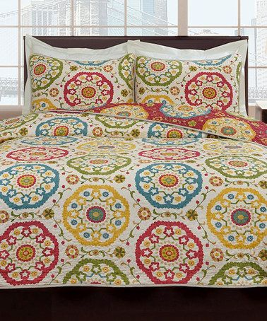 Another Great Find On Zulily Lombardy Quilt Set