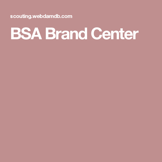 BSA Brand Center | scouts | Cookies