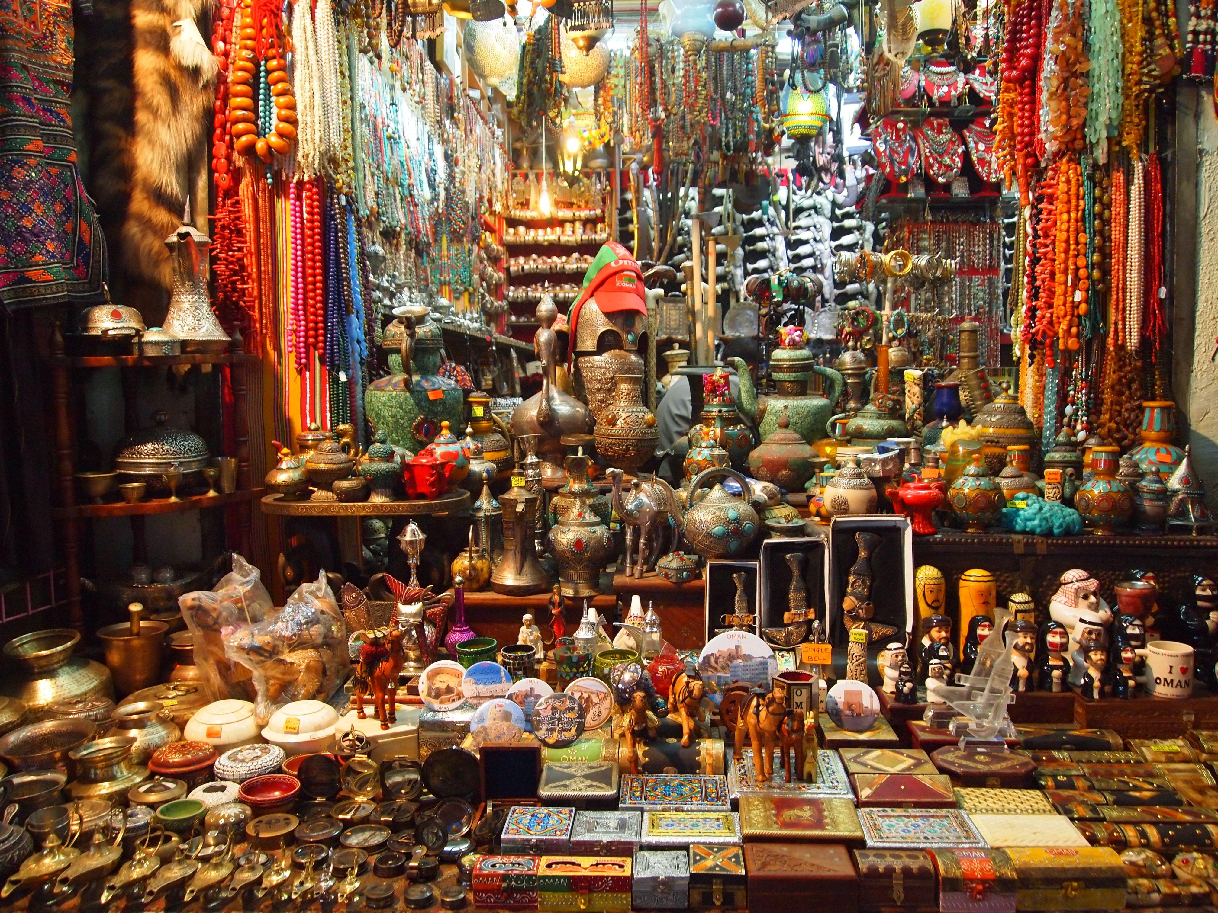 بازار مسقط عمان
