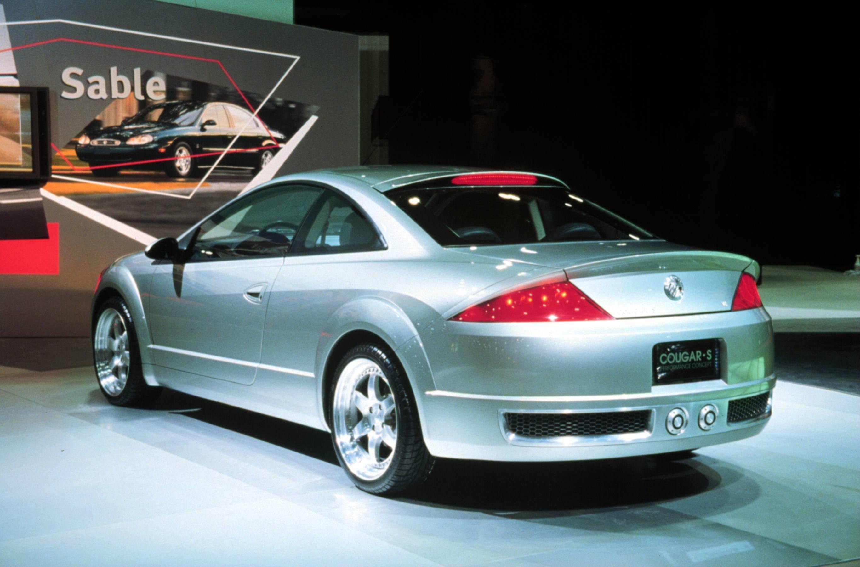 1999 mercury cougar s concept car the cougar s concept is an all wheel