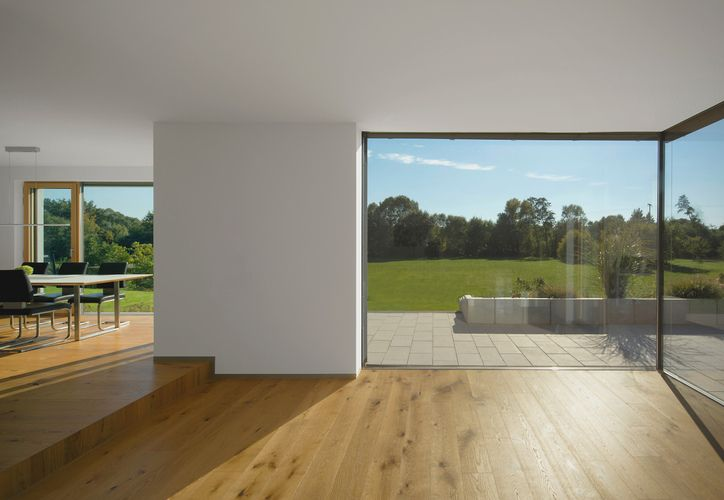 Architektur Evi Pechthold: Haus Scheuplein   – Grundrisse u Hausansichten