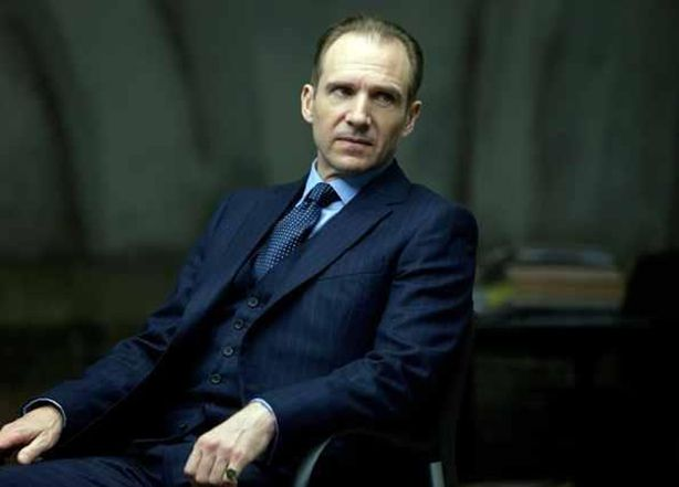 James Bond Ralph Fiennes Skyfall Costume Relic Keychain Fabric Fobs Worn by Fiennes in Skyfall! Gareth Mallory 007
