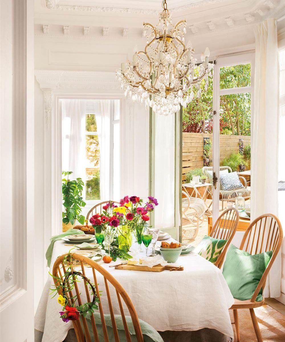 Los mejores 50 comedores de El Mueble | Muebles pintados ...