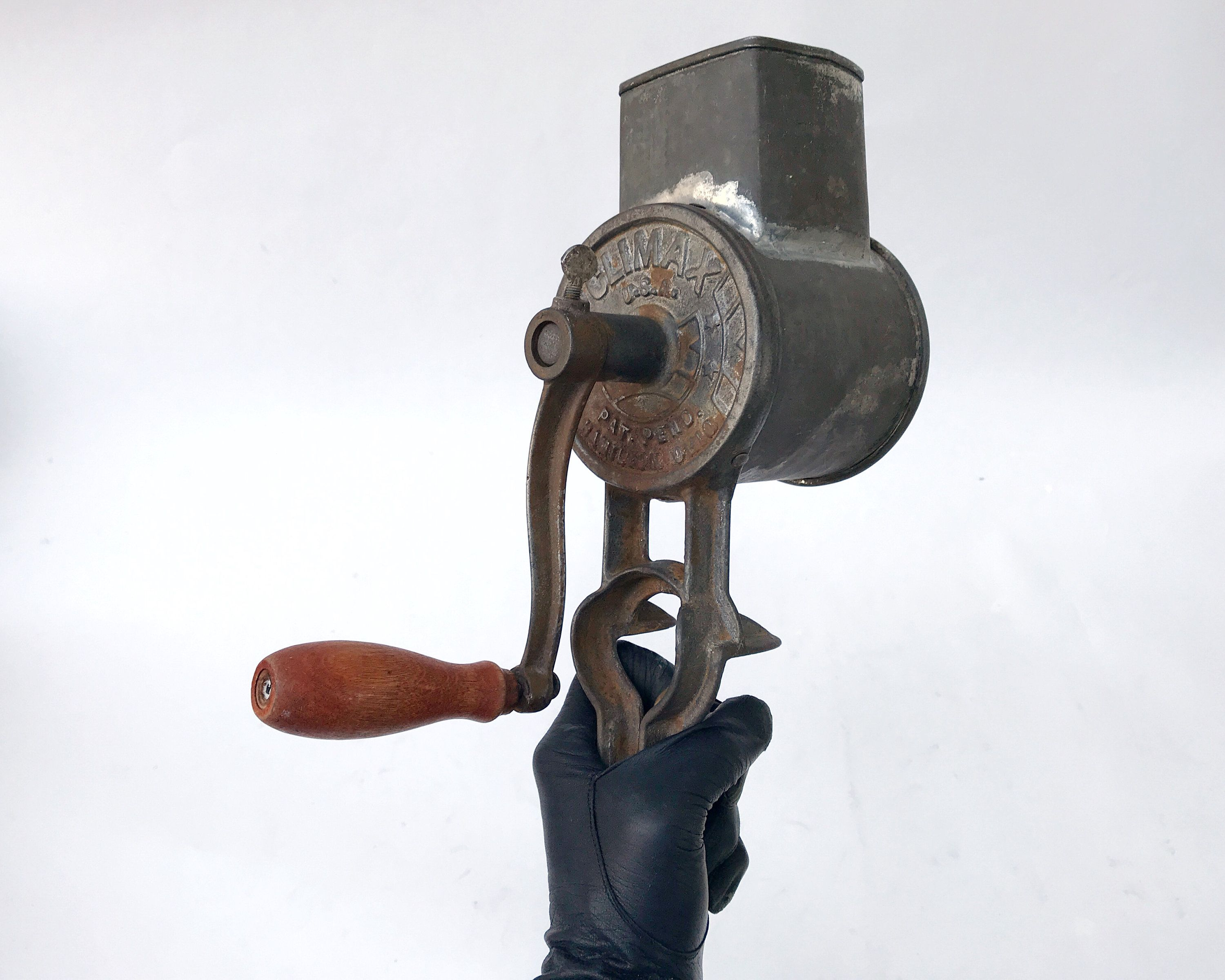 Vintage Climax Food Grinder Cheese Grater Or Meat Grinder Circa 1920s 1930s Meat Grinder Cheese Grater Bottle Opener Wall