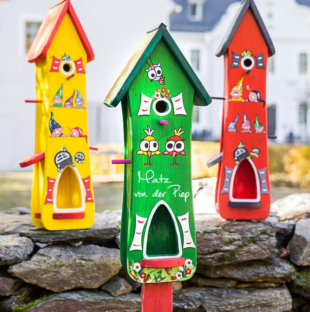 Vogelhaus Vogelvilla Futterhaus Nistkasten Original Vogelliebe Xxl Garten Terrasse Dekoration Vogelhauser Ebay Vogelhaus Ideen Vogelhaus Nistkasten