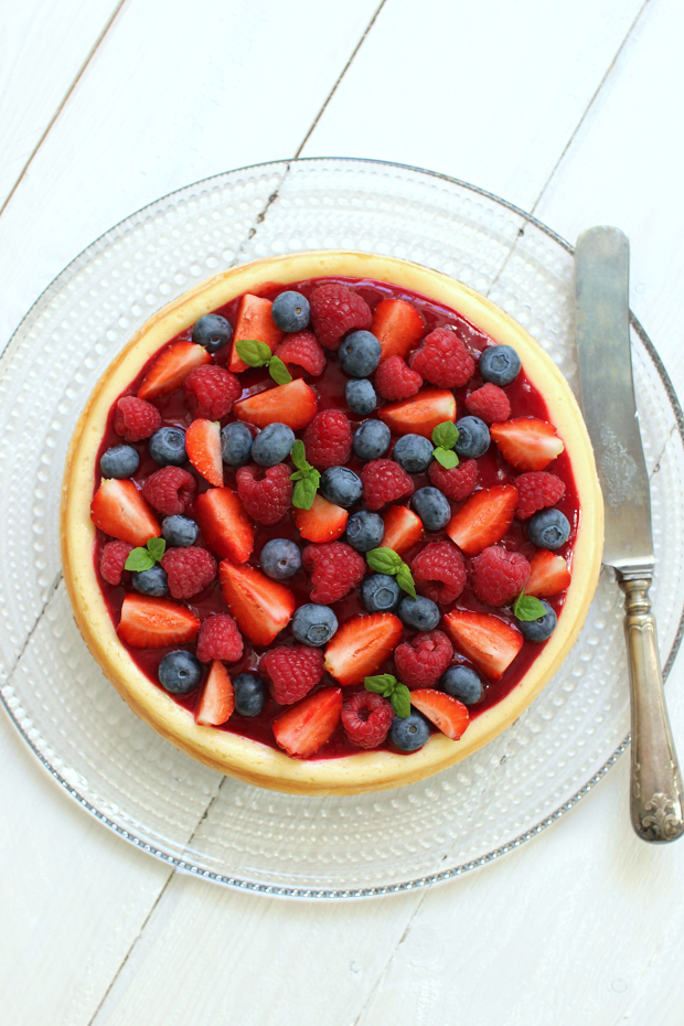 Wicked sweet kitchen: Triple berry cheesecake