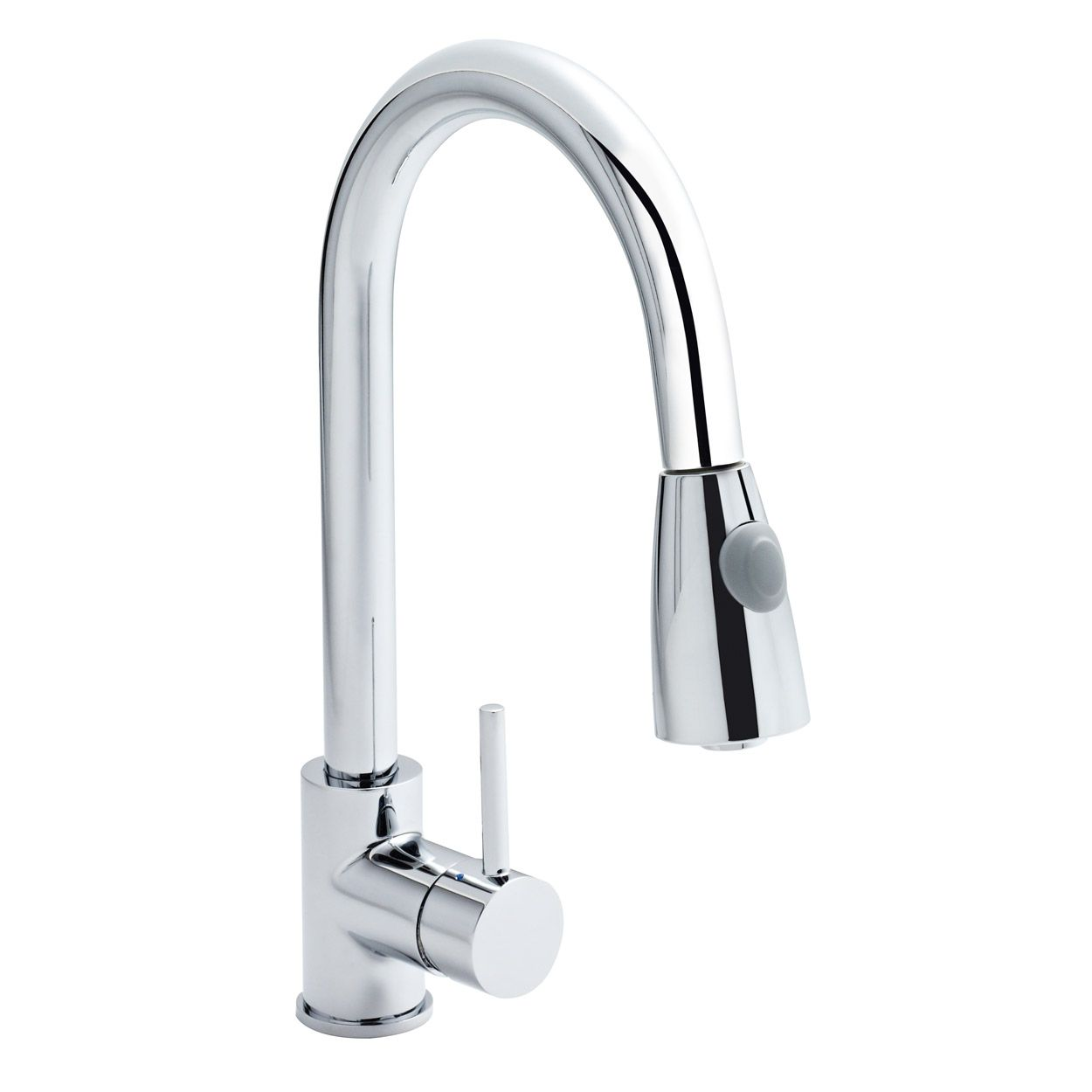 Ultra Kitchen Sink Mixer Tap Pull-Out Spray Single Handle - Chrome ...