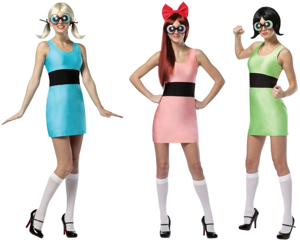 Powerpuff Girls carnaval Pinterest Powerpuff girls costume - 1 year old halloween costume ideas