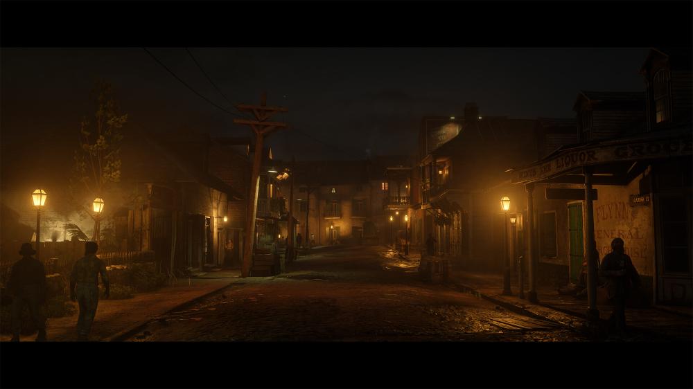 Artstation Saint Denis Lighting Red Dead Redemption 2 Sanjay Chand Red Dead Redemption Saint Denis Redemption
