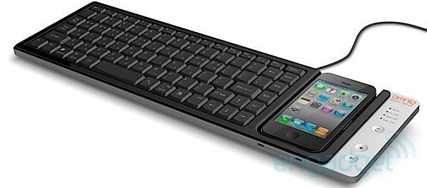 ikeyboard keyboard with dock for IPhone...nice!
