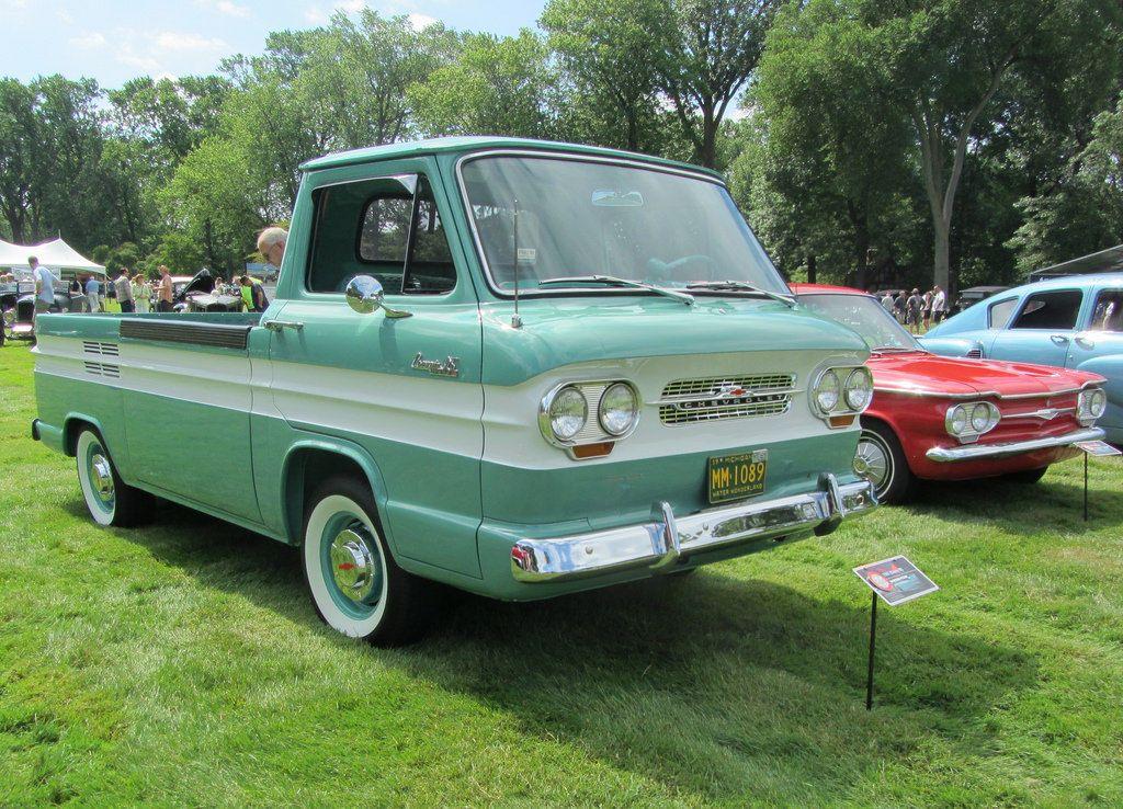 1961 Chevrolet Corvair 95 Rampside Pickup trucks