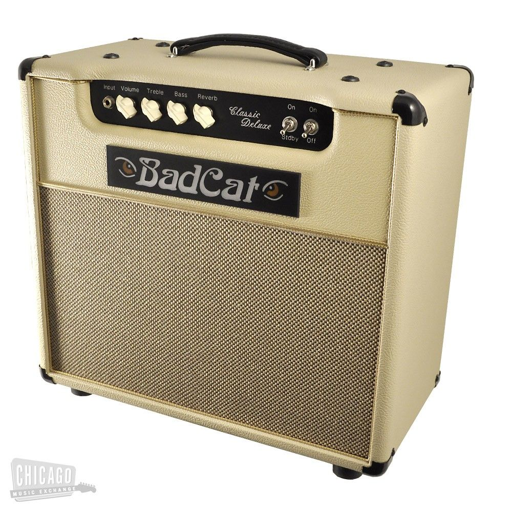 Bad Cat Amplifiers Classic Deluxe 1x12 Cream Bass amps