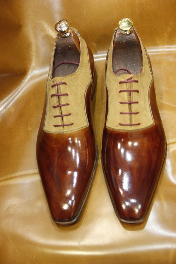 Special Mens Luxury Shoes By Brown Design Handmade Ustabasshoes Yyfgb67v