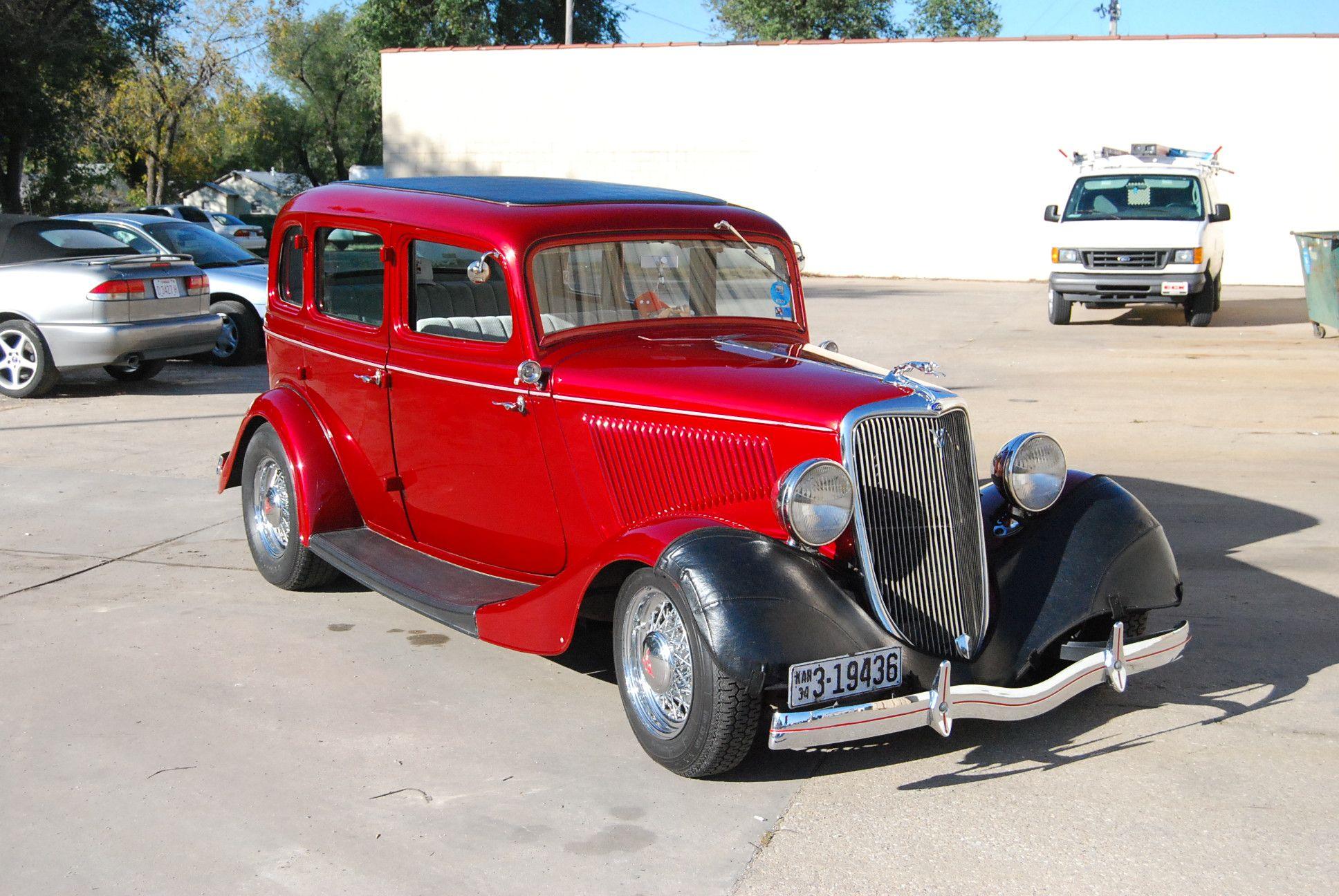Motor\'n   1934 Ford Model 40A 4 Door Sedan Street rod for sale at ...