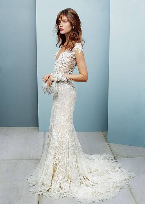 5 Sexy Wedding Dresses That Show Just The Right Amount Of Skin
