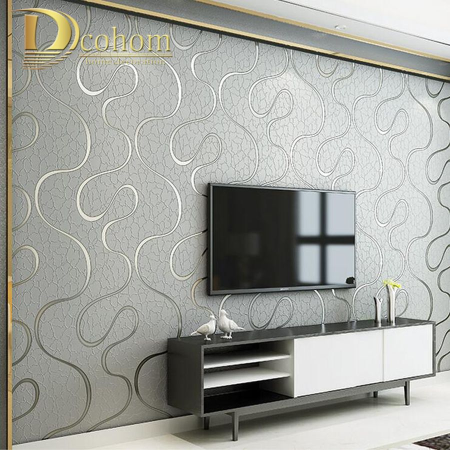 Cheap Striped Wallpaper Buy Quality Wallpaper For Walls Dire