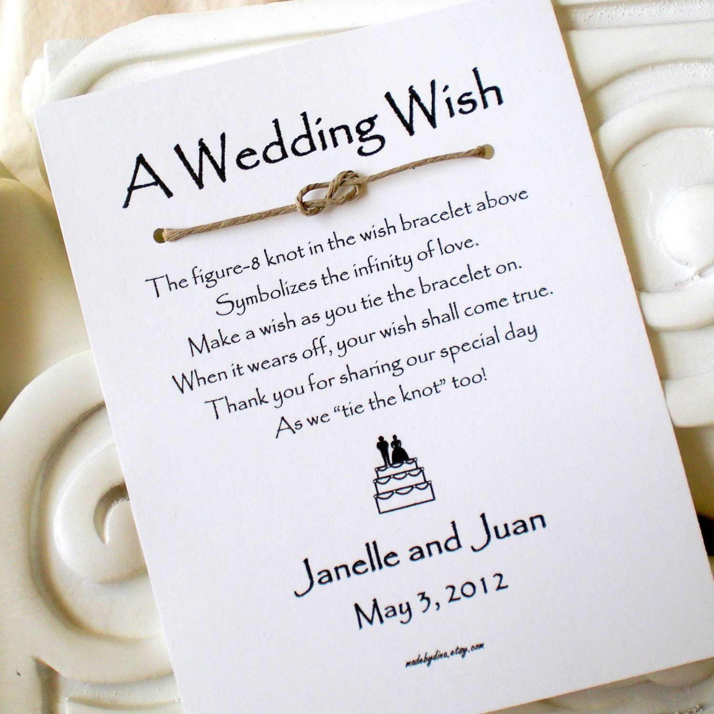 How To Wedding Knot Custom Listing For Jennifer  Infinity Love Knot A Wedding Wish
