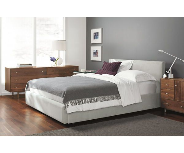 Room Board Wyatt Upholstered Storage Bed Modern Contemporary Beds Modern Bedroom Furniture Bed Storage Best Storage Beds Modern Bedroom Furniture
