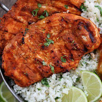 Grilled Tandoori Chicken #tandoorichicken