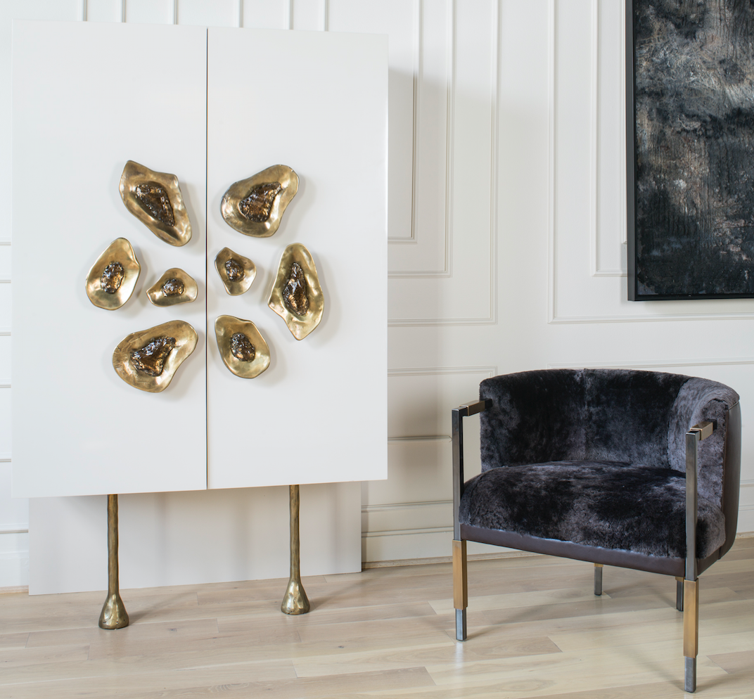 Dining Room Projects By Kelly Wearstler: CRESCENT CABINET. Composed Of Parchment