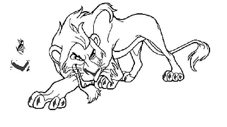 Lion King Coloring Pages Scar Prinzewilson Com Con Imagenes