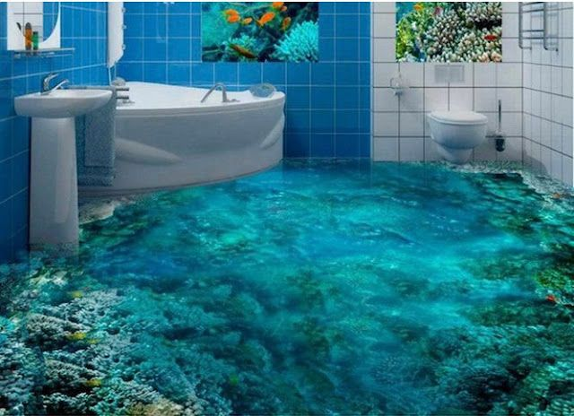 3d Floor Designs For 3d Bathroom Floors Prices Floor Design Amazing Bathrooms 3d Flooring